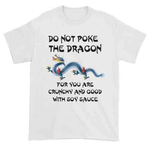 Do Not Poke the Dragon (white)