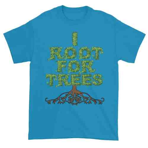 I Root for Trees T-Shirt (sapphire)