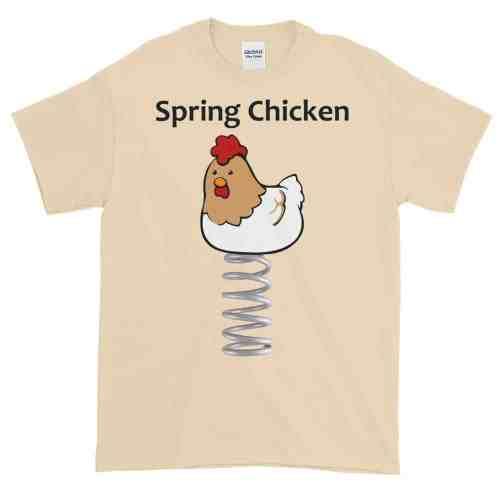 Spring Chicken T-Shirt (natural)