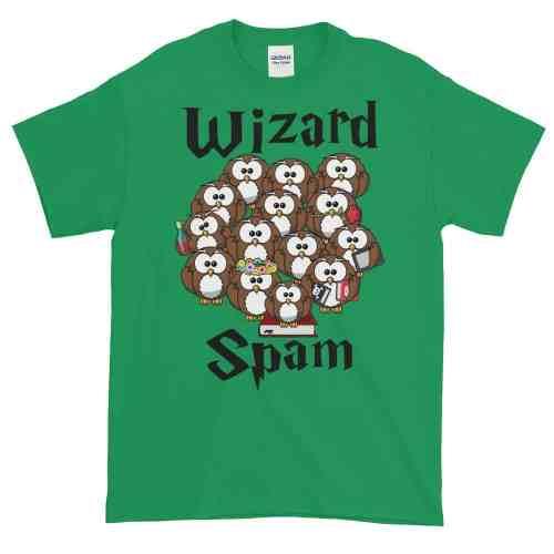 Wizard Spam T-Shirt (shamrock)