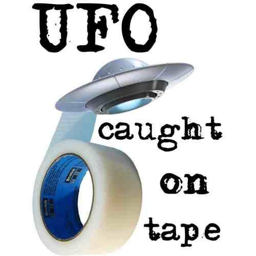 UFO Caught on Tape