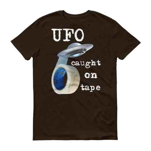 UFO Caught on Tape T-Shirt (chocolate)