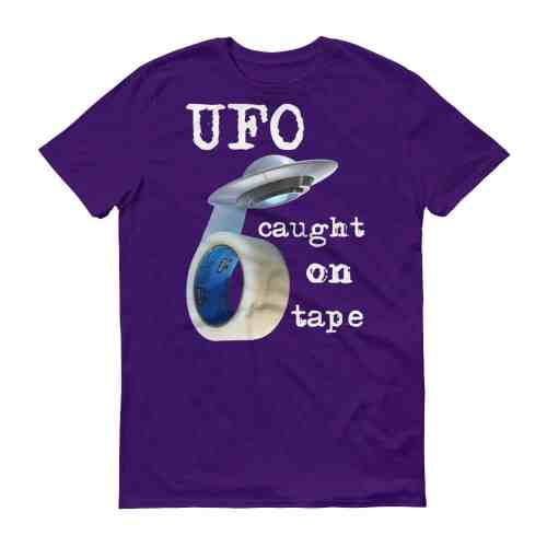 UFO Caught on Tape T-Shirt (purple)