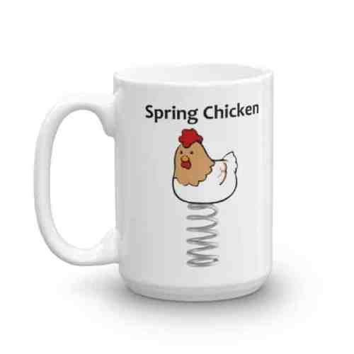 Spring Chicken Mug - 15 left