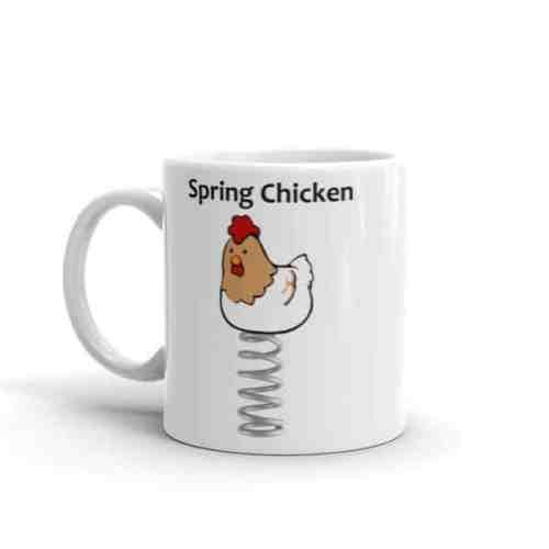 Spring Chicken Mug - 11 left