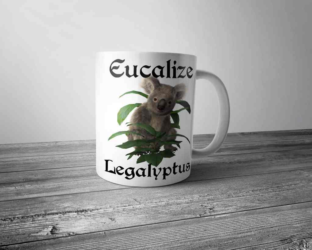 Eucalize Legalyptus Koala Mug Dobrador