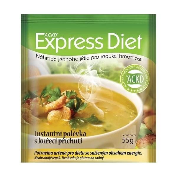 Express Diet Polievka s kuracou príchuťou 55g