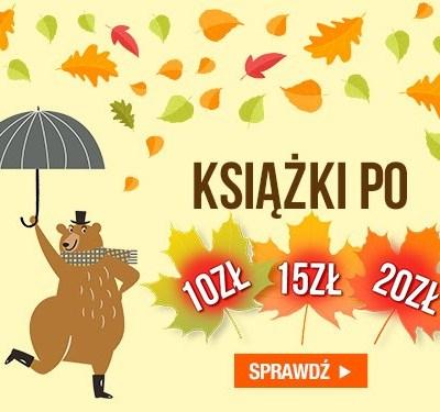 Książki za 10 zł, 15 zł i 20 zł!