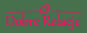 Nauka czytania - Dobre Relacje - Szkoła Małgorzaty Kerl - Logo szkoły tekst duże