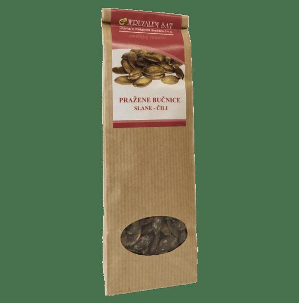 Dýňová semínka s příchutí čili