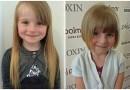 4-letnia Evie-Leigh Austin obcieła włosy, aby oddać je na peruki dla chorych dzieci