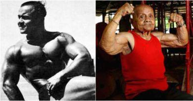 Ten 103-letni kulturysta był pierwszym indyjskim zwycięzcą konkursu Mr Universe