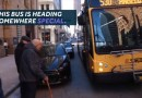 86-letni mężczyzna po raz ostatni jechał autobusem do pracy, nie spodziewał się tego, co miało go spotkać