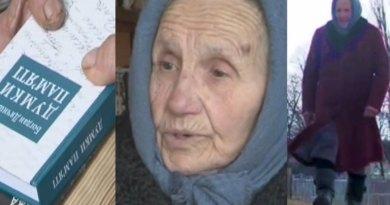 Niecodzienna ukraińska wielbicielka książek