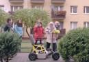 18-latka własnoręcznie zbudowała pojazd dla niepełnosprawnej babci
