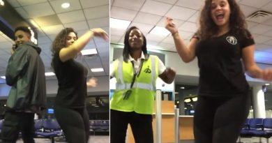Kobieta przez całą noc tańczyła z nieznajomymi, po tym jak spóźniła się na lot i utknęła na lotnisku