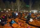 Ponad osiem tysięcy osób spędziło noc na dworze, aby zwrócić uwagę na problem bezdomności