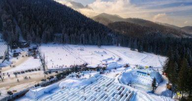 Zakopane: największy śnieżny labirynt na świecie