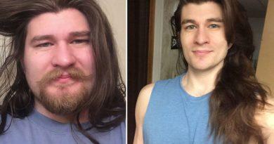 Mężczyzna schudł ponad 30 kg opiekując się swoją chorą matką, internauci twierdzą że wygląda teraz jak książę z bajki Disneya