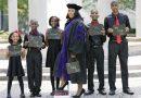 Samotna matka piątki dzieci spełniła swoje marzenie i skończyła studia prawnicze