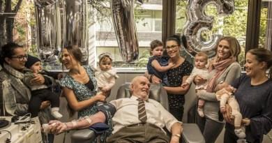 Przez ponad 60 lat oddawał krew o rzadkich właściwościach. Ocalił w ten sposób życie milionów dzieci
