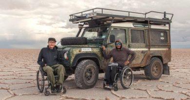 Dwóch Polaków na wózkach inwalidzkich pokonało rwącą Amazonkę, Andy i 40 tys. km… podróżują dalej