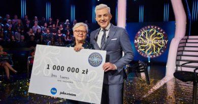 Pani Maria wygrała milion, większość wygranej przekazała na szczytny cel