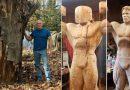 Artysta stworzył naturalnej wielkości rzeźbę Arnolda Schwarzeneggera