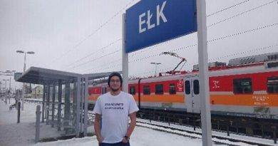 Przejechał 4298 km na jednym bilecie i pobił rekord Polski!