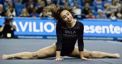 Katelyn Ohashi – to co zrobiła ta dziewczyna na zawodach w Anaheim jest nieprawdopodobne. Noty 10!