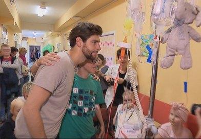 Alvaro Soler dał koncert w szpitalu, dla dzieci oddziału onkologicznego