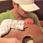 Wzruszające nagranie, na którym ojciec śpiewa kołysankę dla swojej córeczki, obiegło już cały świat