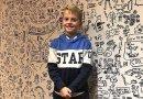 """Chłopiec przez swoje """"bazgroły"""" miał kłopoty w szkole, poproszono go aby udekorował ściany restauracji"""