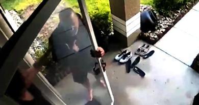 Zadzwonił do drzwi sąsiadki pokazując że nie może oddychać. Kobieta uratowała mu życie