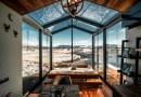 """Dzięki tej """"magicznej kabinie"""" można obejrzeć zorzę polarną bez wychodzenia z łóżka"""