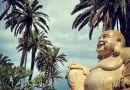 Posąg Buddy wciąż zadziwia. 2-tonowy kolos w katolickim kraju