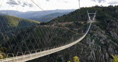 najdłuższy most wiszący dla pieszych