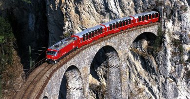 pociągiem