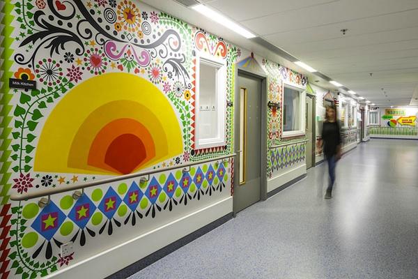 artists mural design royal london children hospital vital arts 3