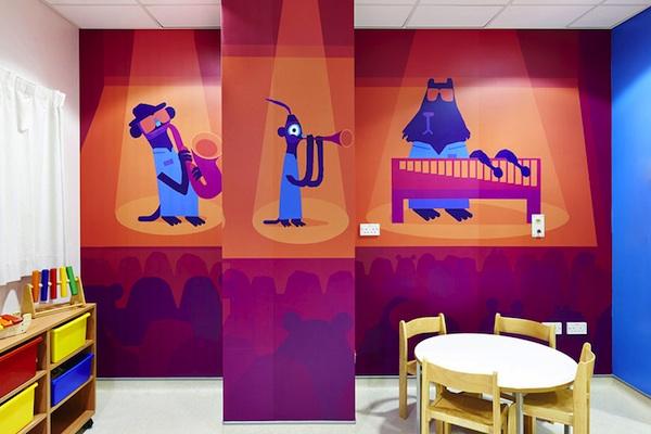 artists mural design royal london children hospital vital arts 8