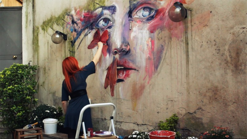 wip about a new place by agnes cecile d4ufkfy