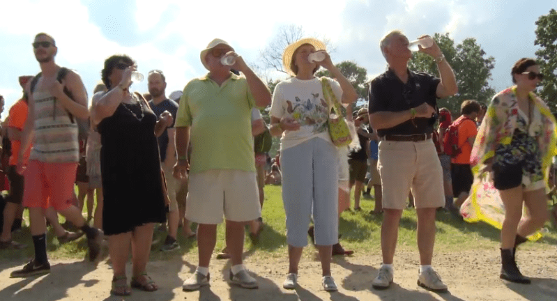 old folks at bonnaroo