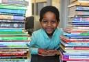 Sześciolatek tworzy bibliotekę dla bezdomnych dzieci