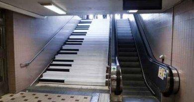 """""""Piano Stairs"""" zachęcą do chodzenia po schodach?"""