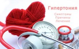 Гипертония (Артериальная гипертензия). Причины, симптомы и лечение гипертонии