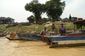 Kampong Khleang wioska na palach (11)