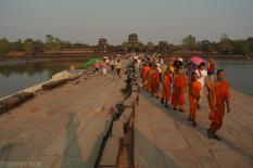 Wejscie do Angkor Wat