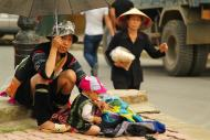Gorskie plemiona zamieszkujace okolice Sapa Wietnam (17)