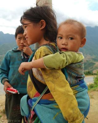 Gorskie plemiona zamieszkujace okolice Sapa Wietnam (5)