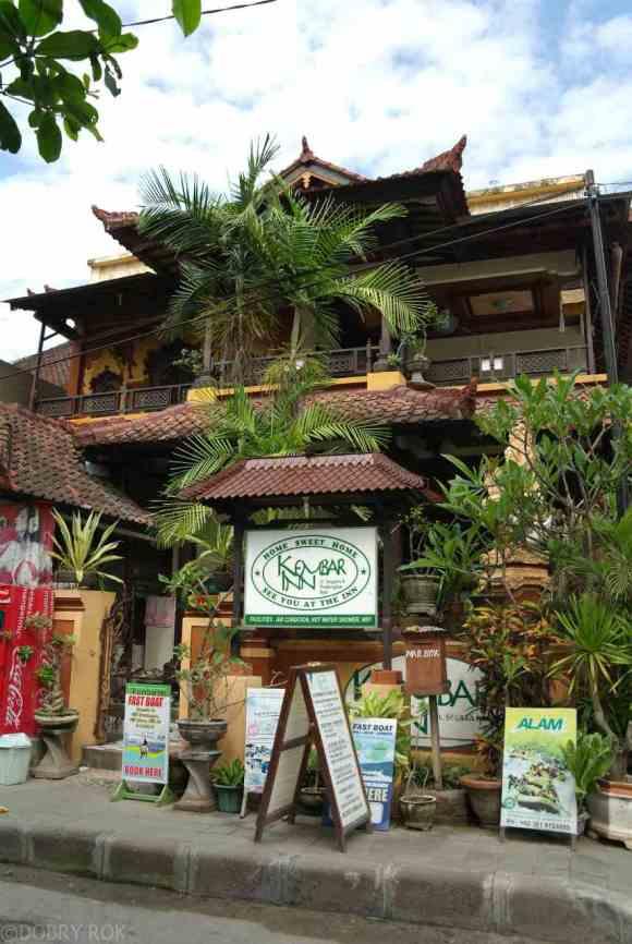 Nasz rodzinny hotelik w Padangbai Bali